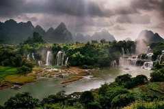 Vietnam-waterfalls-waterfalls-river-sunbeams-amazing-nature