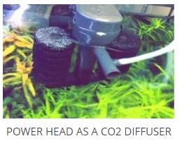 power head co2 diffuser
