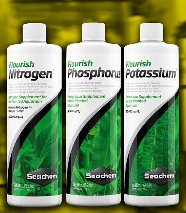Seachem macro aquarium fertilizer NPK