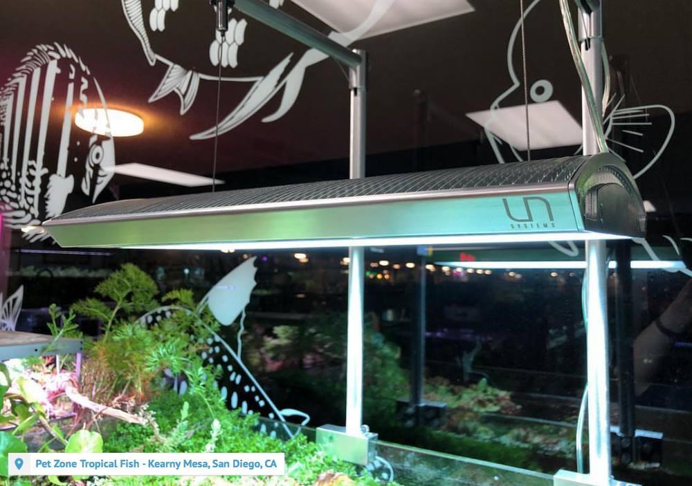 Titan 1 RGB LED light for aquarium UNS