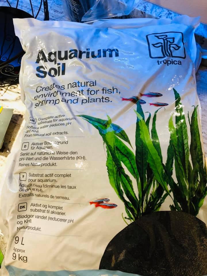 Tropica aquarium aquasoil substrate