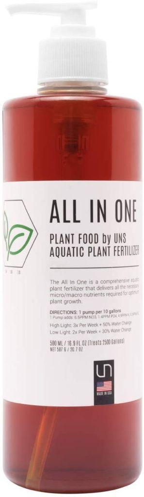 UNS Aquarium fertilizer all in one bottle 500ml