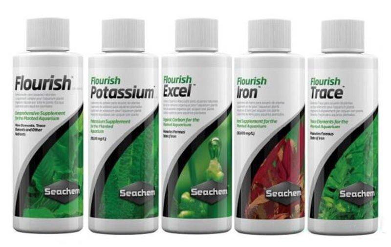 seachem aquarium fertilizer line