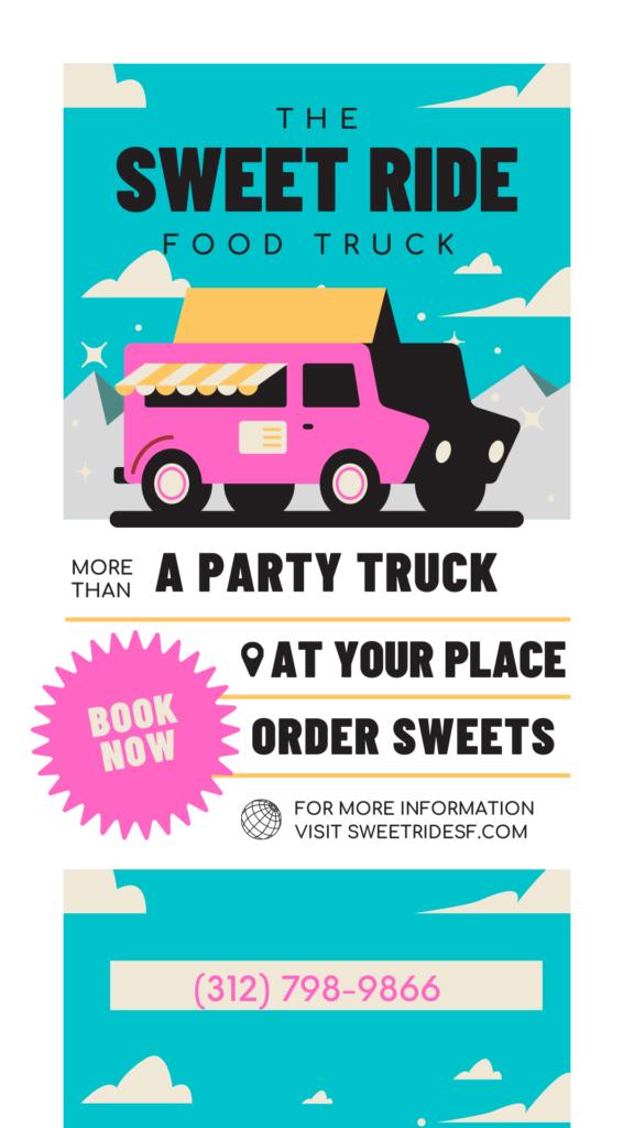 Party Food Truck Deerfield, IL Sweet Ride